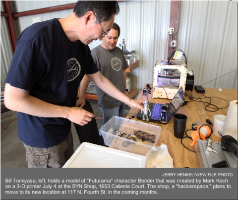 SYN Shop offers equipment, knowledge for those who wish to create